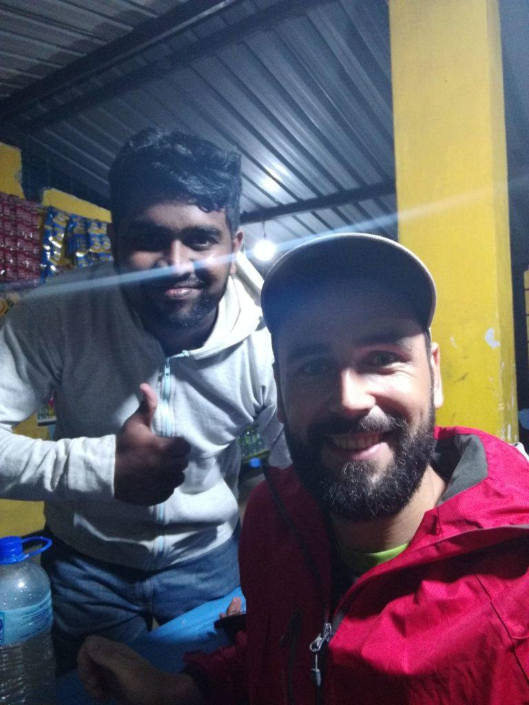 Selfie Toma aPrabodhy ze Srí Lanky