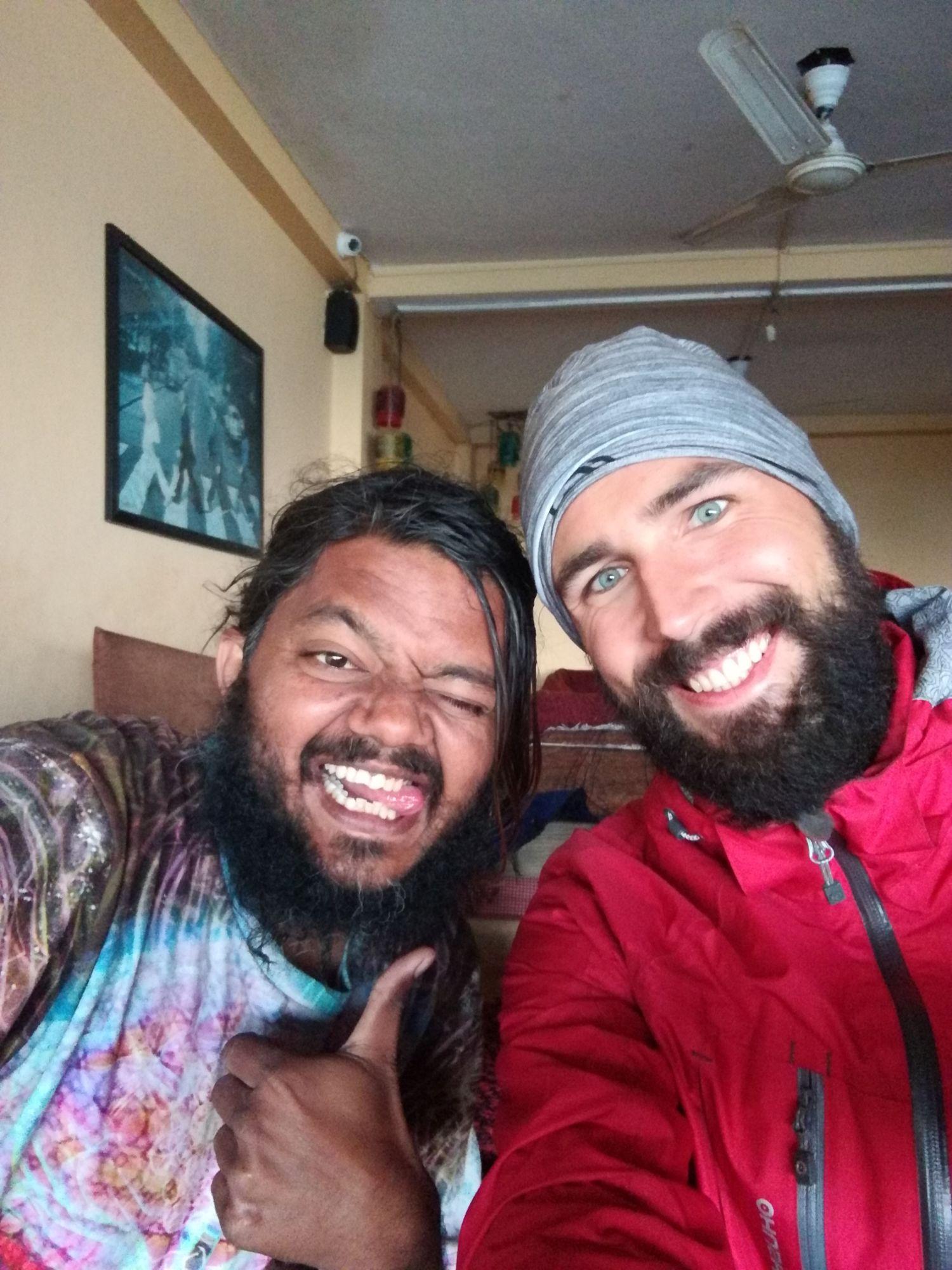 Selfie Toma aNipuna zRišikéše vIndii